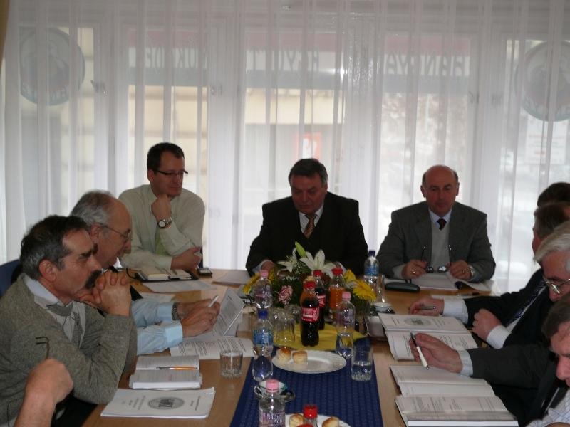 GOSZ Elnökségi és Ellenőrző Biz. ülés