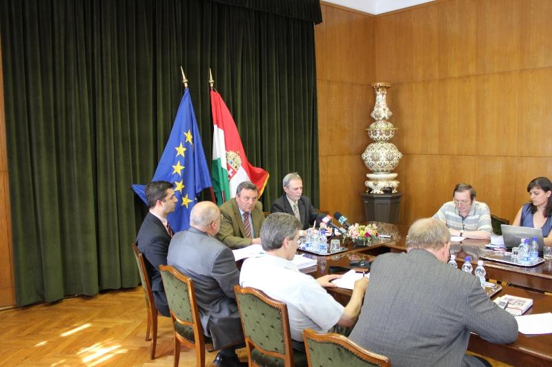 Sajtótájékoztató: Aratási Koordinációs Bizottság