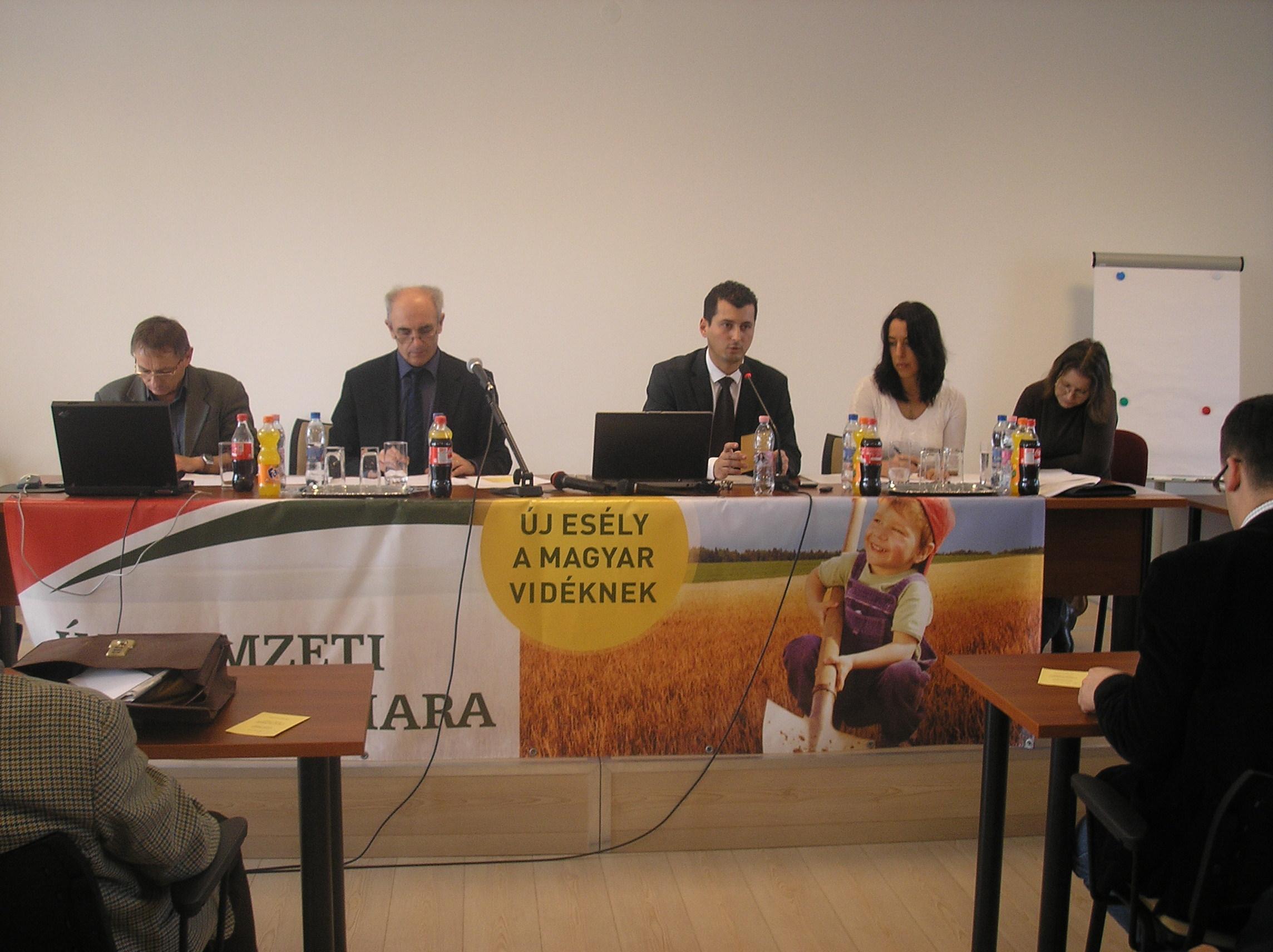 Dunaharaszti - Az új Magyar Agrár-, Élelmiszergazdasági és Vidékfejlesztési Kamara Budapest- Pest megyei alakuló ülése