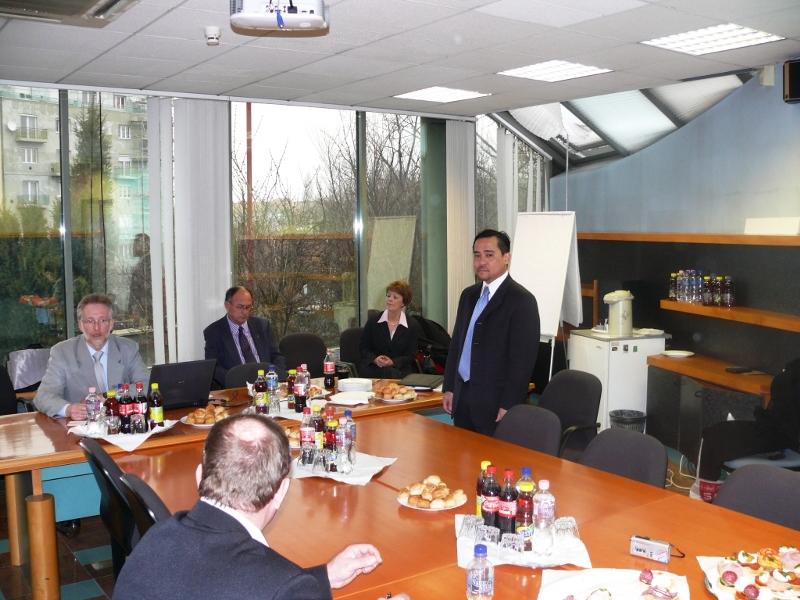 GOSZ Elnökségi ülés amerikai vendégekkel